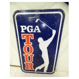 30X48 PGA TOUR METAL SIGN