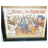 13X19 RINGLING BROS POSTER