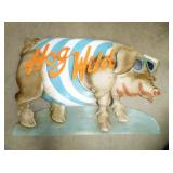 37X58 HOG WILD METAL SIGN