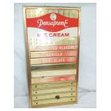 11X20 PENNSUPREME ICE CREAM MENU