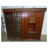 48X56 OAK POST OFFICE TELLER WINDOW