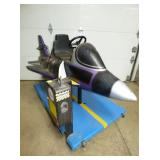 2ND VIEW COIN OP JET RIDING TOY