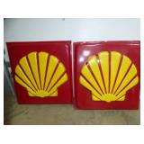 2 47X49 SHELL INSERT SIGNS