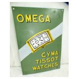 14X20 PORC OMEGA WATCH SIGN