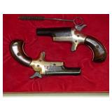 2 COLT SINGLE SHOT 22 DARRINGER