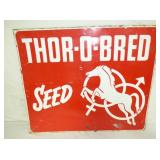 20X24 THOR-O-BREAD SEED SIGN W/ HORSE