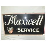 16X30 MASONITE MAXWELL SERVICE SIGN