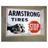 16X22 ARMSTRONG TIRES SIGN