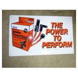 16X22 POWER PERFORMACE SPARKPLUG SIGN