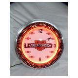 2ND VIEW HARLEY SPINNER CLOCK