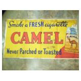 "CAMEL CIGARETT CANVAS ADV. ""RJR"""