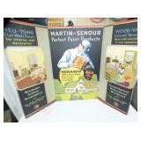 35X48 MARTIN SENOUR PAINT DISPLAY