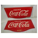 COCA COLA MASONITE TOPPERS