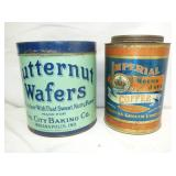 BUTTERNUT WAFERS,IMPERIAL TINS