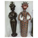 25IN. MARVIN BAILEY FOLK ART POTTERY