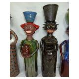 24/25IN MARVIN BAILEY FOLK ART POTTERY