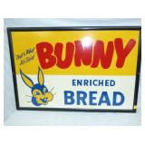 22X34 BUNNY BREAD CARDBOARD SIGN