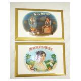 6X9 NOS ROUNDUP MECHANT CIGARS SIGN