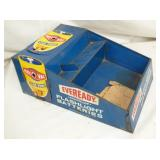 8X12 EVEREADY BATTERIES COUNTER DISPLAY