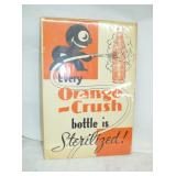 12X18 ORANGE CRUSH PAPER ADV.