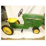 2ND VIEW OTHERSIDE JD PEDAL TRACTOR