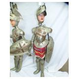 3RD VIEW ARMORED KNIGHT PUPPETS