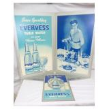 28X36 NOS EVERESS WATER STORE DISPLAY