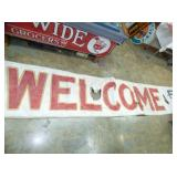 20FT.X22FT. STORE WELCOME BANNER