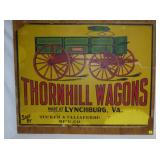 36X48 THORNHILL WAGONS LYNCHBURG VA AD