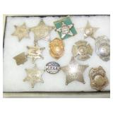 COLL. POLICE, FIRE, SHERIFF BADGES