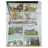 216 PC COLL. NC POST CARDS