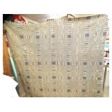 EARLY HAND LOOM COVERLET