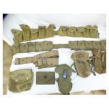 US MILITARY AMMO BELTS/ POUCHES