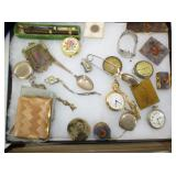 POCKET WATCHES DRESER BOXES MESH PURSE