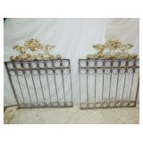 36X43 EARLY IRON GATES