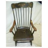 PENN. TOIL PAINTED ROCKER