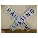 4FT RAILROAD CROSSING SIGN