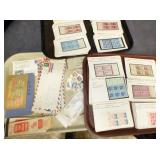 COLLECTION EARLY STAMP BOOKS