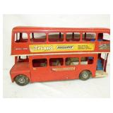 12X22 TRI-ANG RAILWAY DOUBLE TOY BUS