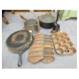 VARIOUS GRISWOLD CAST PANS