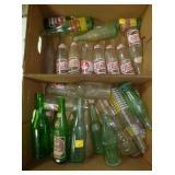 SEV. DRINK AND SODA BOTTLES