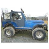 1977 JEEP SOFT TOP