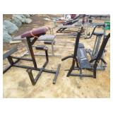VARIOUS WEIGHT BENCHES & EQUIPMENT