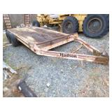 6FT.X16FT. HUDSON FLAT BED TRAILER
