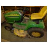 18HP JOHN DEERE RIDING LAWN MOWER