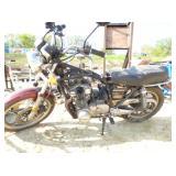 TWIN CYLINDER SUZUKI MOTORCYCLE