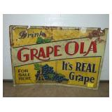 14X20 EMB GRAPEOLA SIGN