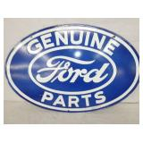 16X24 PORC. GENUINE FORD PARTS SIGN
