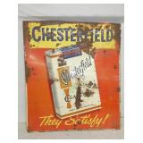 23X27 EMB CHESTERFEILD SIGN