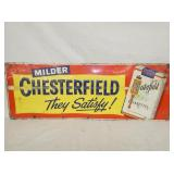 12X34 EMB CHESTERFEILD SIGN